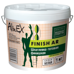 Шпатлевка AlinEX FINISH AR, 1кг
