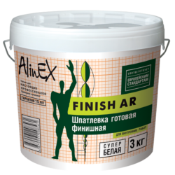 Шпатлевка AlinEX FINISH AR, 3 кг
